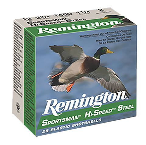 "Remington Ammunition SSTHV10B Sportsman  10 Gauge 3.50"" 1 3/8 oz BB Shot 25 Bx/ 10 Cs"