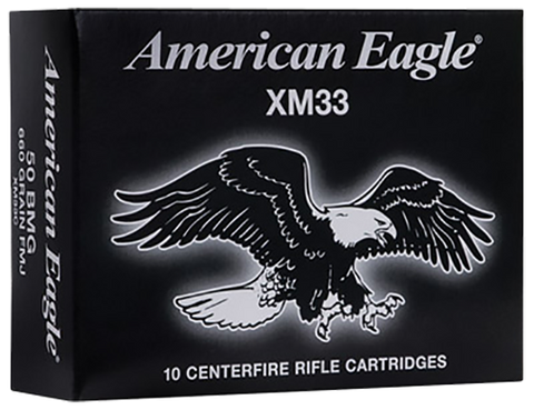 Federal XM33C XM 50 BMG (Anoka Packed) FMJ 660 GR 10Box/10Case