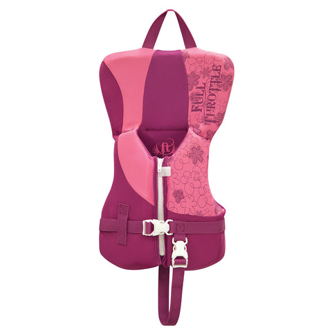 Full Throttle Rapid-Dry Life Vest - Infant Less Than 30lbs - Pink/Purple