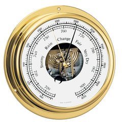 "BARIGO Viking Series Ship's Barometer - Brass Housing - 5"" Dial"