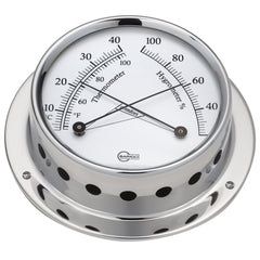 "BARIGO Sky Series Ship's Comfortmeter - Stainless Steel Housing - 3.3"" Dial"