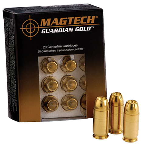 Magtech GG40A Guardian Gold 40 Smith & Wesson (S&W) 155 GR Jacketed Hollow Point 20 Bx/ 50 Cs