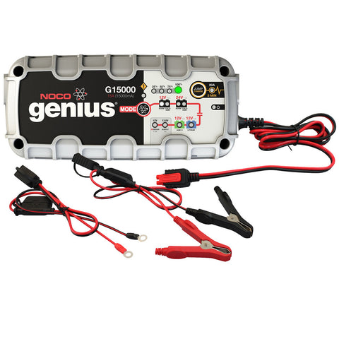NOCO Genius G15000 12V/24V 15000mA Battery Charger