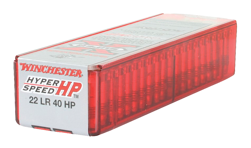 Winchester Ammo XHV22LR Super-X 22 Long Rifle 40 GR Hollow Point 100 Bx/ 20 Cs - 100 Rounds