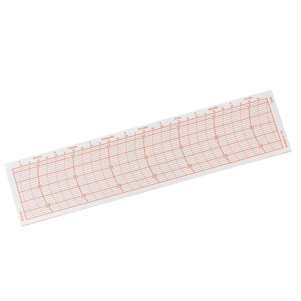 BARIGO Replacement Paper Graph f/2018.1 Recording Instrument