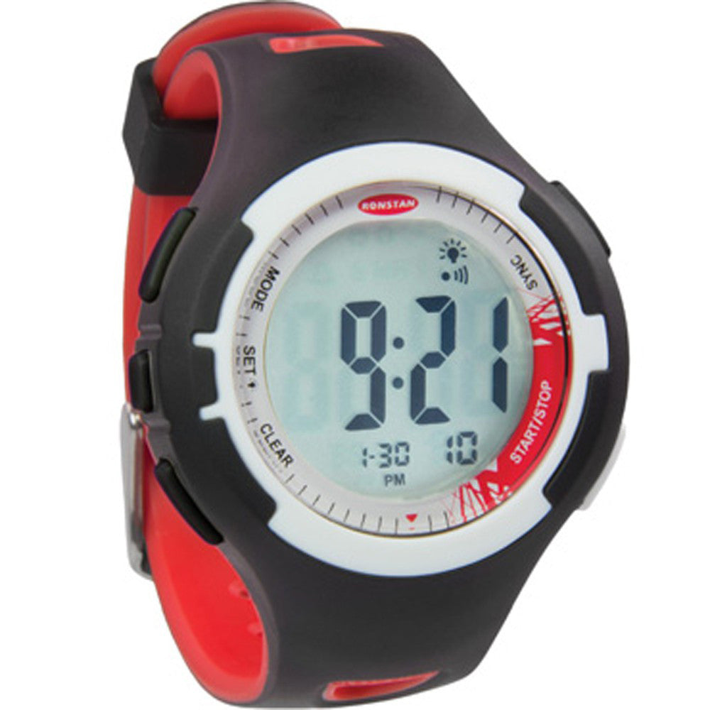 "Ronstan Clear Start™ Sailing Watch - 40mm(1-9/16"") - Red/Black"