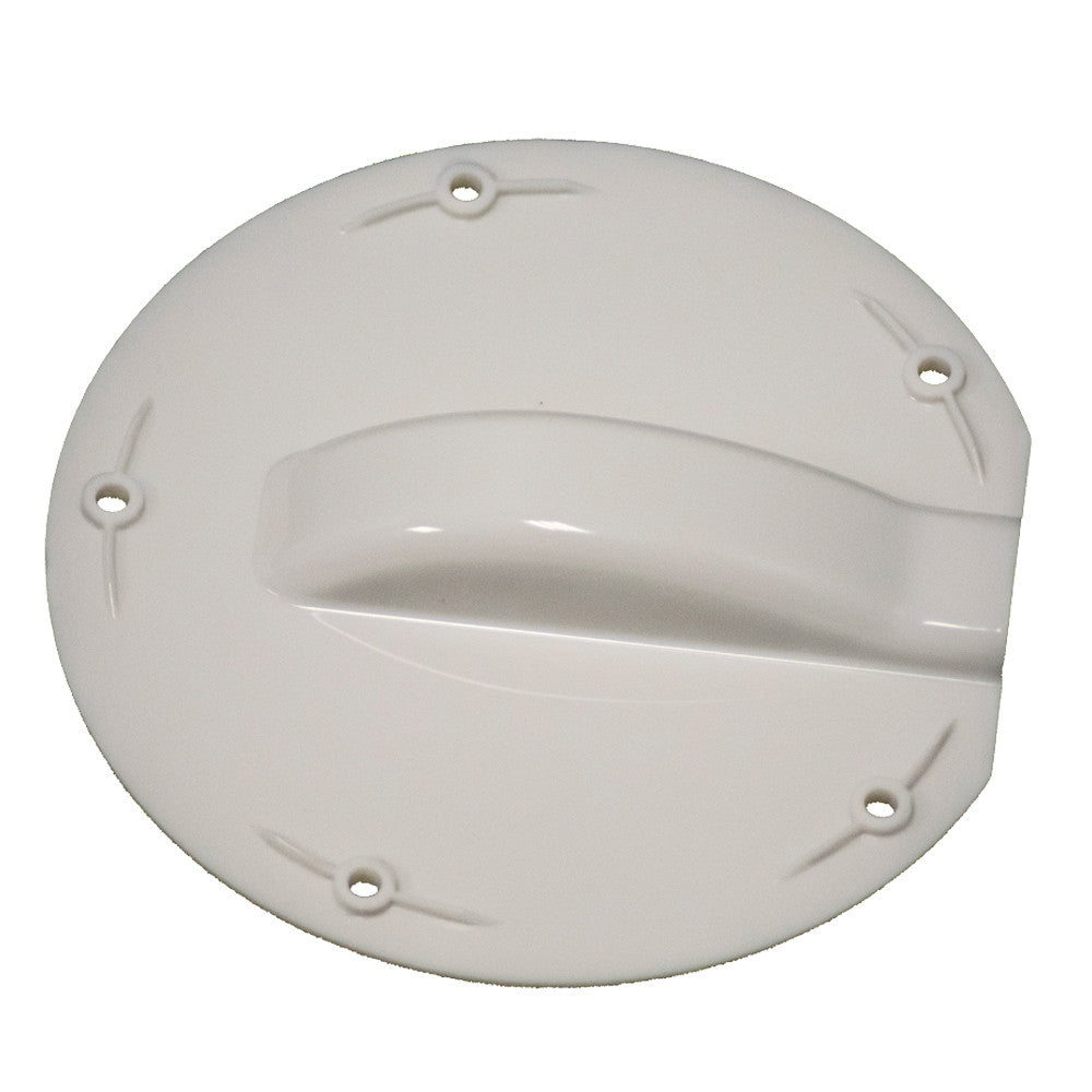 KING Coax Cable Entry Cover Plate
