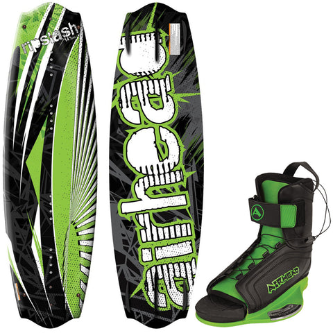 AIRHEAD RipSlash Wakeboard - 141cm w/GOBLIN Bindings - Large