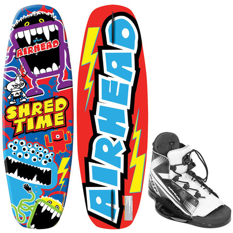 AIRHEAD Shred Time Wakeboard - 124cm w/VENOM 4-8 Bindings