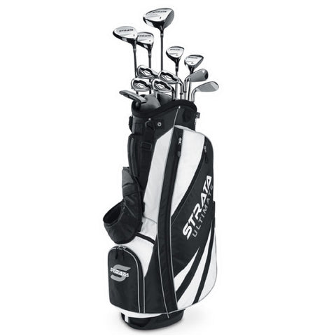 Callaway Strata Ultimate 18 Piece RH Mens Complete Set