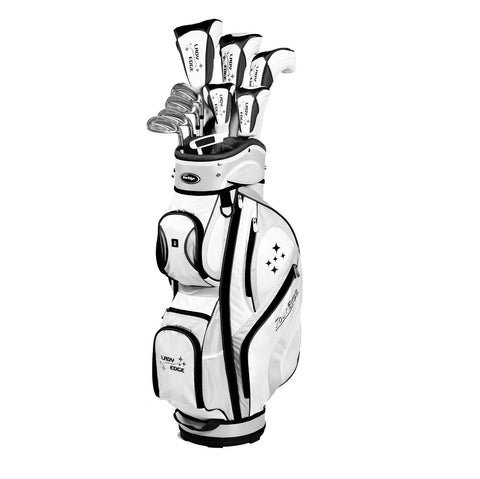 Tour Edge Lady Edge Black/White Complete Set
