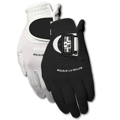 Zero Friction Mens Motion Fit GPS Golf Glove Pair LH