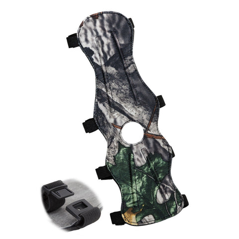 October Mountain Arm Guard 4 Buckle Camo