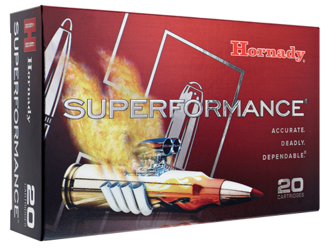 Hornady 80573 Superformance 7mm-08 Remington 139 GR SST 20 Bx/ 10 Cs