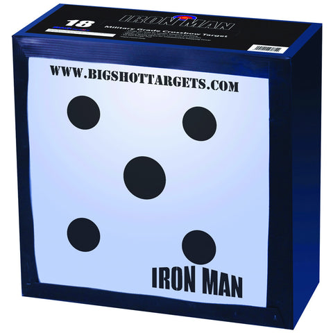 Big Shot Iron Man 18 Crossbow Target