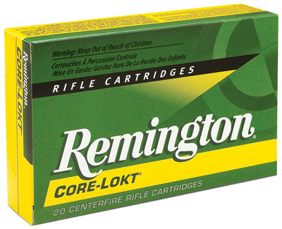 Rem Ammo R30RAR2 Core-Lokt 30 Rem AR Soft Point 150 GR 20Box/10Case