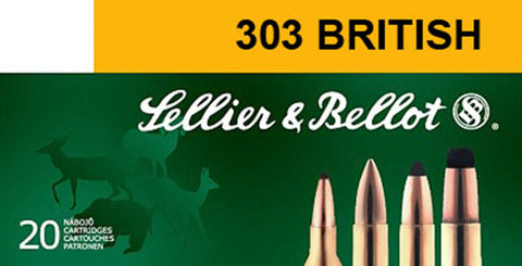 Sellier & Bellot SB303A Rifle Training 303 British 180 GR FMJ 20 Bx/ 20 Cs