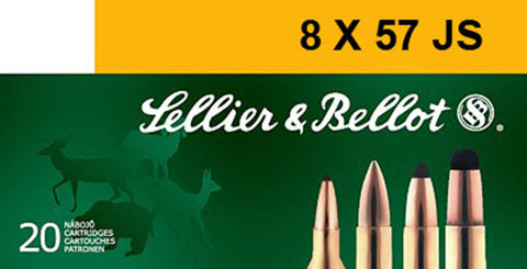 Sellier & Bellot SB857JSA Rifle Training 8X57mm JS 196 GR FMJ 20 Bx/ 20 Cs