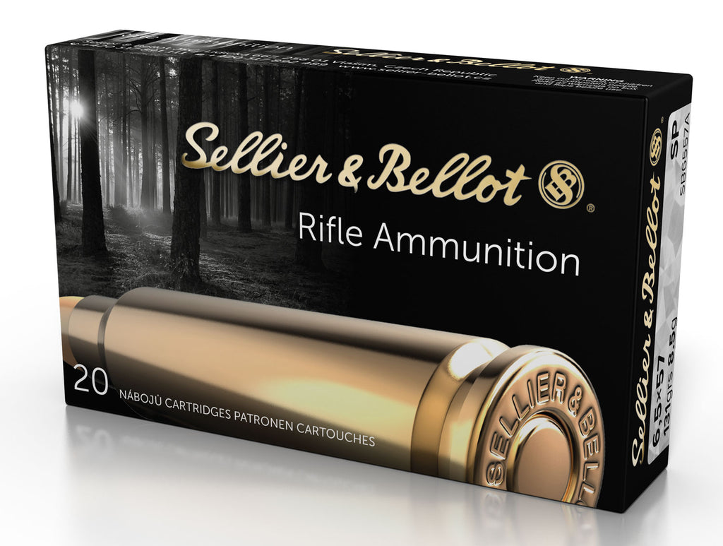 Sellier & Bellot SB6557RA Rifle 6.5X57mmR 131 GR Soft Point 20 Bx/ 20 Cs