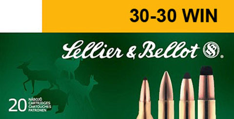 Sellier & Bellot SB3030A Rifle 30-30 Win 150 GR Soft Point 20 Bx/ 25 Cs