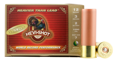 "Hevishot 43027 Hevi-13 Turkey 12 Gauge 3"" 2 oz 7 Shot 5 Bx/ 10"