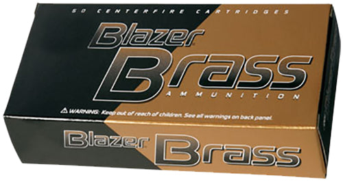 CCI 5207 Blazer Brass 357 Remington Magnum JHP 158 GR 50Box/20Case