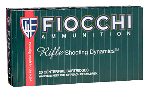 Fiocchi 22250B PSP 22-250 Remington Pointed Soft Point 55 GR 20Bx/10Cs