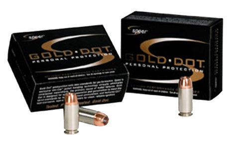 Speer 23921 Gold Dot 38 Special Gold Dot Hollow Point 135 GR 20Box/25Case