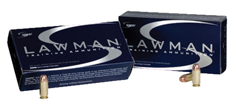 Speer 53654 Lawman 45 ACP Total Metal Jacket 185 GR 50Box/20Case