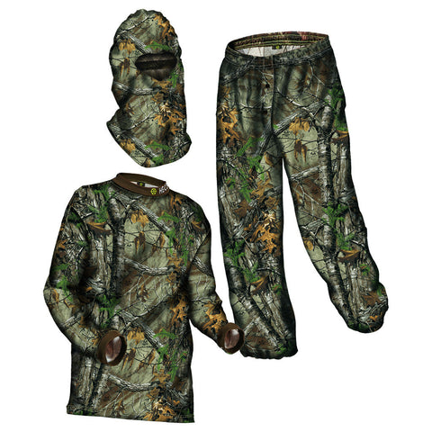HECS Energy Concealment Suit Realtree Xtra - Size Large
