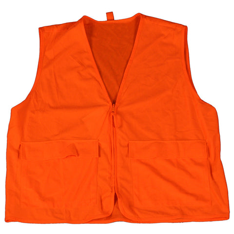 Gamehide Deer Camp Vest Blaze Orange X-Large