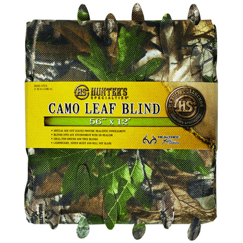 Hunters Specialties Leaf Blind Material RT Xtra Green 12 ft.