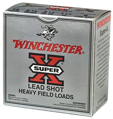 "Winchester Ammo XU206 Super-X Game Load 20 Gauge 2.75"" 7/8 oz 6 Shot 25 Bx/ 10 Cs"