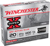 "Winchester Ammo XRS20 Super-X 20 Gauge 2.75"" 5/8 oz Slug Shot 5 Bx/50 Cs"
