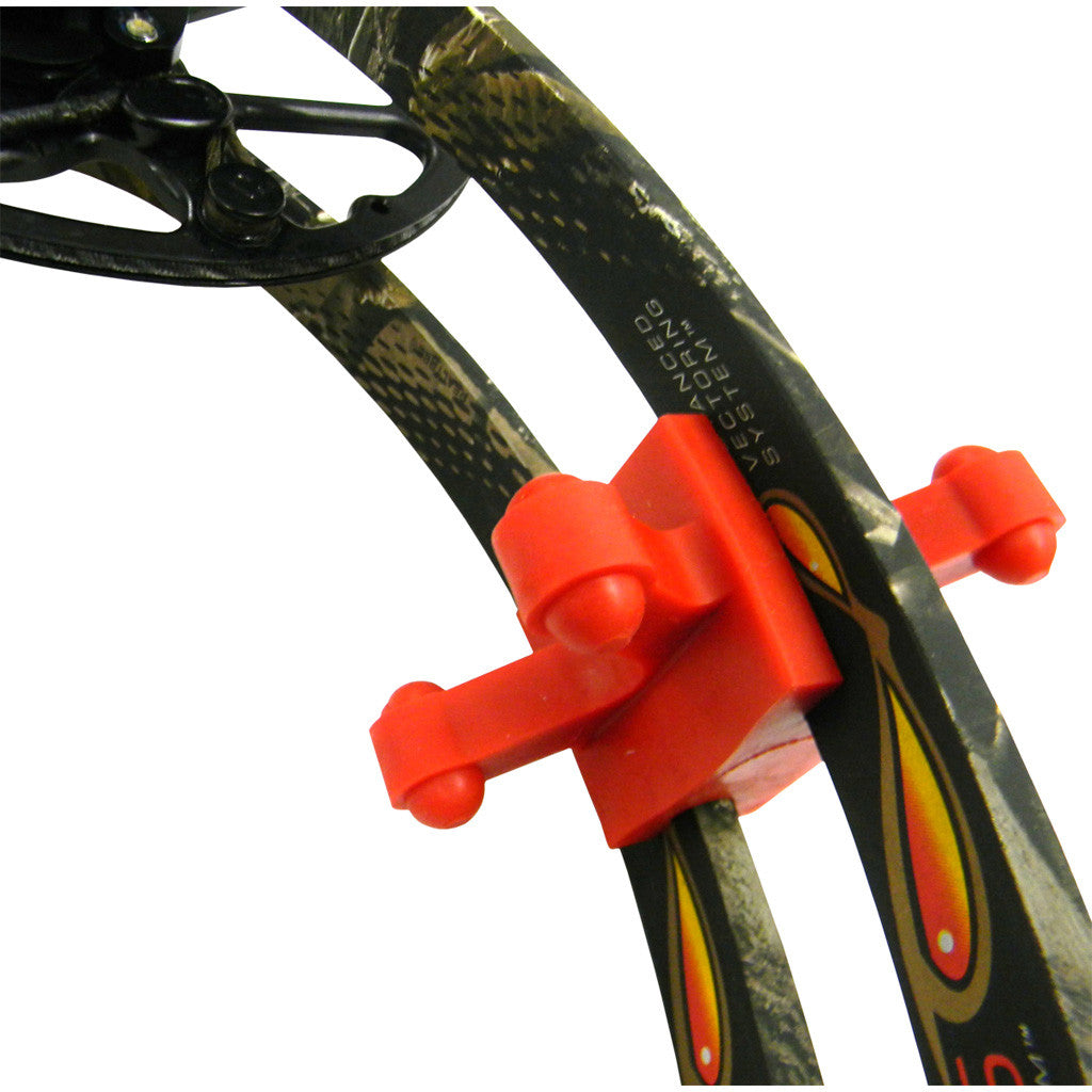 BowJax Revelation Limb Dampener Red 15/16 in. 2 pk.