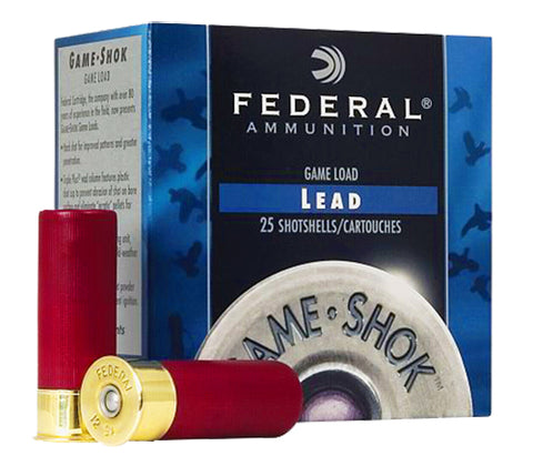 "Federal H4136 Game-Shok High Brass Lead 410 Gauge 3"" 11/16 oz 6 Shot 25 Bx/ 10 - 250 Rounds"