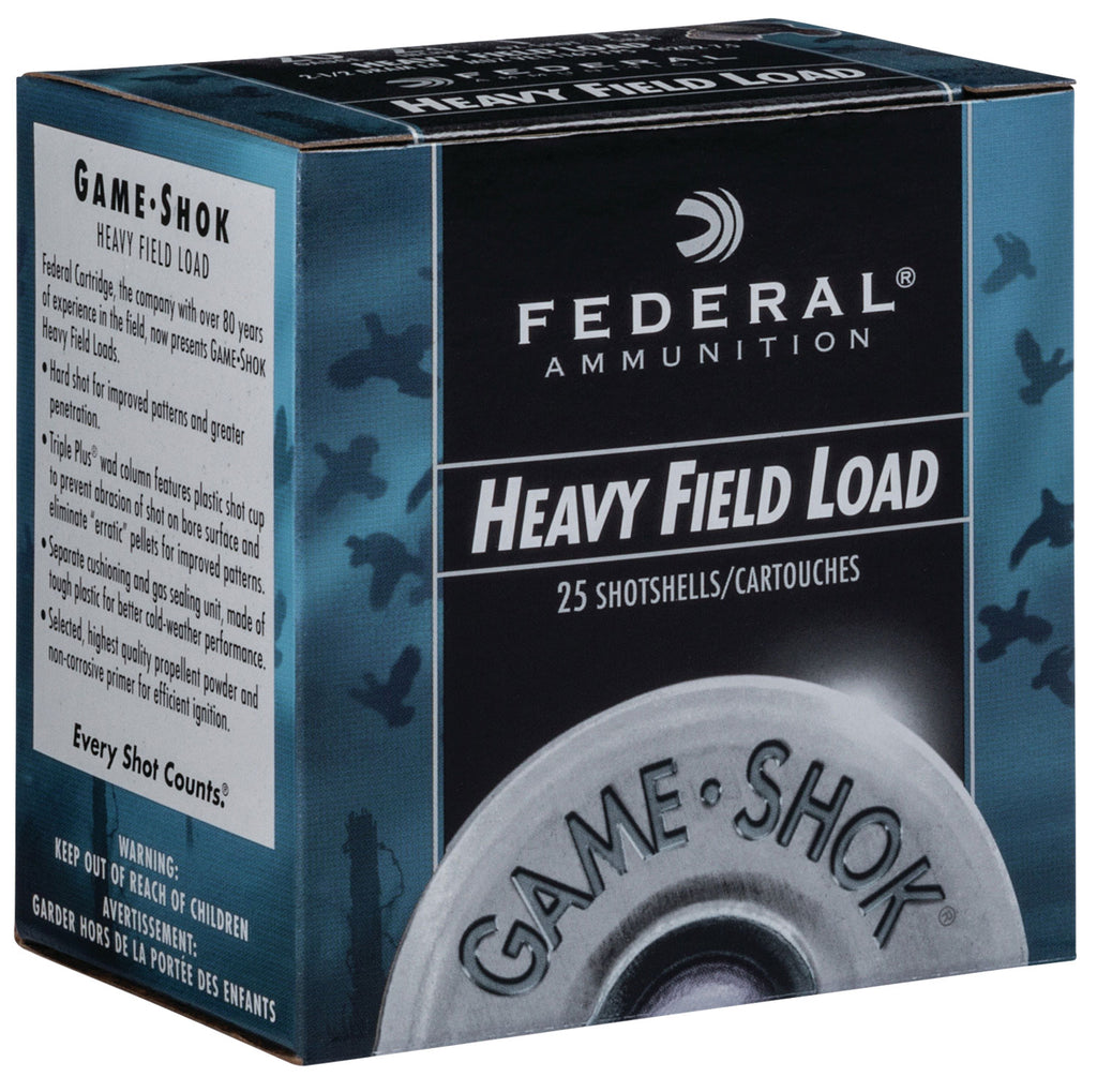 "Federal H20275 Game-Shok Upland 20 Gauge 2.75"" 1 oz 7.5 Shot 25 Bx/ 10 Cs"