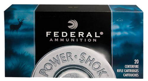 Federal 6555B Power-Shok 6.5mmX55mm Soft Point 140 GR 20Box/10Case