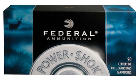 Federal 7RA Power-Shok 7mm Remington Magnum Soft Point 150 GR 20Box/10Case