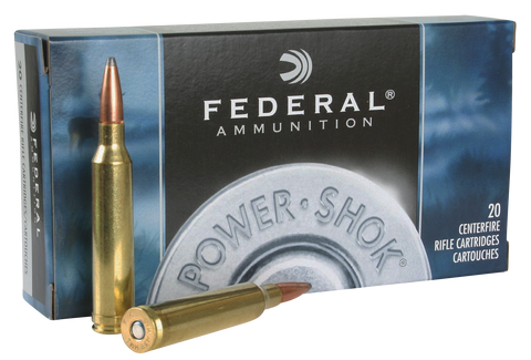 Federal 7RB Power-Shok 7mm Remington Magnum Soft Point 175 GR 20Box/10Case