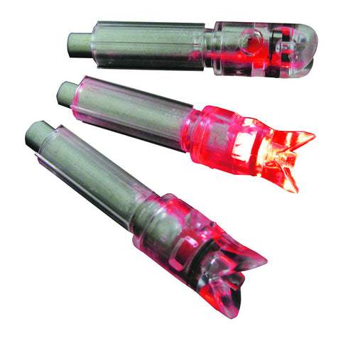 GWS Lighted Crossbow Nocks Red 3 pk.