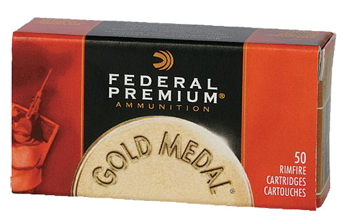Federal 719 Gold Medal Premium 22 LR Solid 40 GR 50Box/100Case