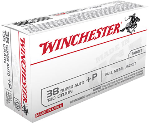Winchester Ammo Q4205 Best Value 38 Special 130 GR Full Metal Jacket 50 Bx/ 10 Cs