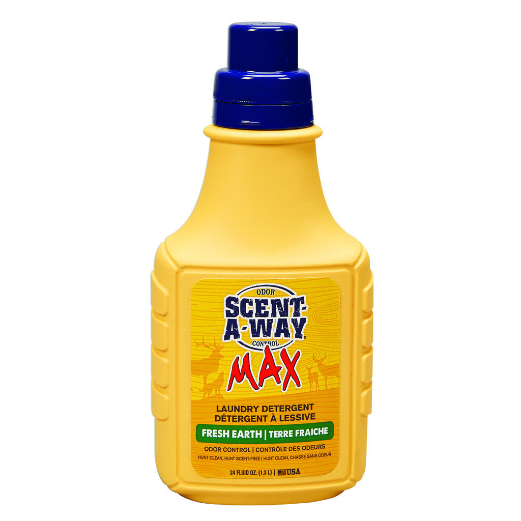 Scent-A-Way Max Laundry Detergent Fresh Earth 24 oz.