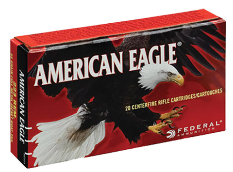 Federal A76239A American Eagle 7.62X39mm 124 GR Full Metal Jacket 20 Bx/ 25 Cs