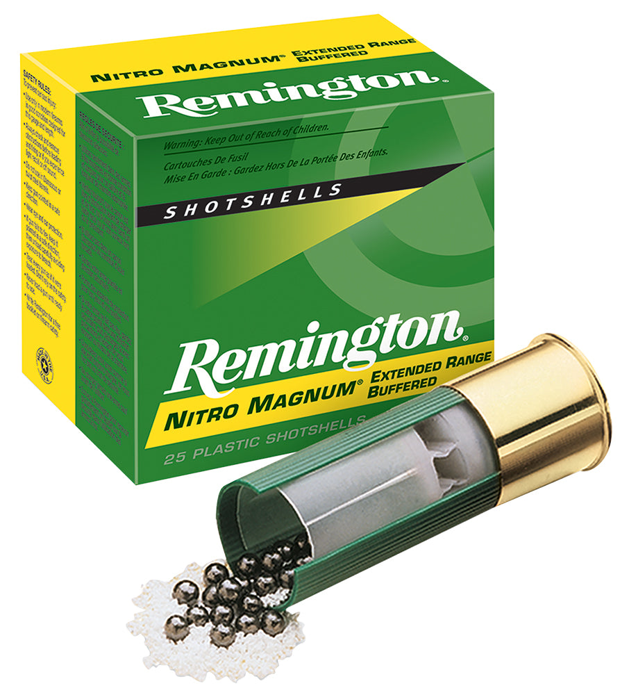 "Remington Ammunition NM20H6 Nitro Mag  20 Gauge 3"" 1 1/4 oz 6 Shot 25 Bx/ 10 Cs"