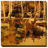 Wild Wings Wrapped Canvas The Haven Sepia