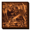 Wild Wings Wrapped Canvas Droptine Shed