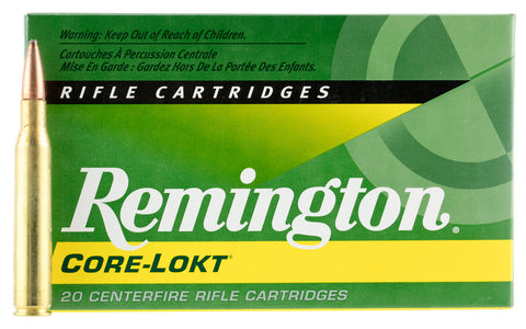 Rem Ammo R280R1 Core-Lokt 280 Rem Core-Lokt Pointed Soft Point 150GR 20Bx/10Case