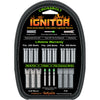 NuFletch Ignitor XBow Nocks Green Universal Fit 3 pk.